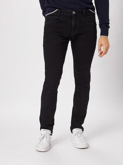 TOM TAILOR Jeans 'Troy' in black denim, Modelansicht