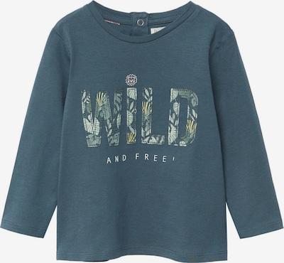 MANGO KIDS T-Shirt 'FREE' in hellgelb / petrol / weiß, Produktansicht