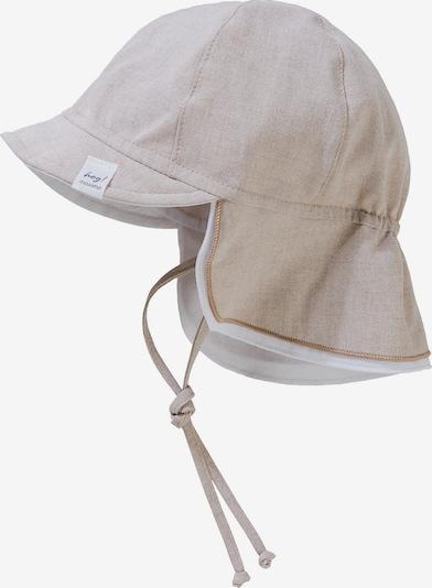MAXIMO Schirmmütze in beige / weiß, Produktansicht