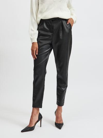 VILA Hose 'Sybille' in schwarz, Modelansicht