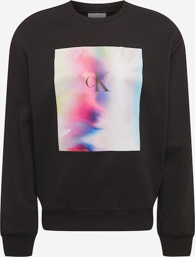 Calvin Klein Jeans Sweatshirt 'PRIDE' en blau / lila / pink / schwarz / weiß, Vue avec produit