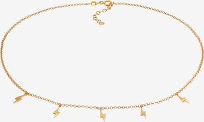 ELLI Halskette Blitz in gold, Produktansicht