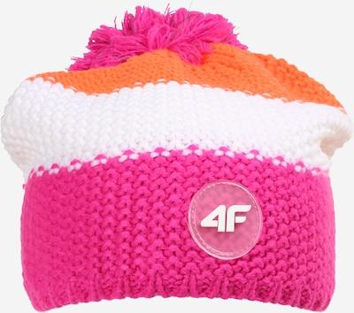 4F Czapka sportowa w kolorze pomarańczowy / różowy / białym, Podgląd produktu