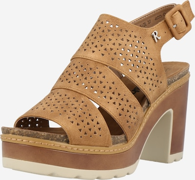 Refresh Cipele s potpeticom i otvorenom petom u karamela, Pregled proizvoda