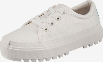TOMS Sneaker  'Lace Up Lug' in Weiß