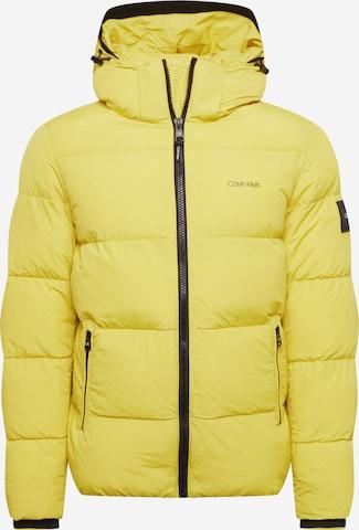 Calvin Klein Talvejope, värv kollane