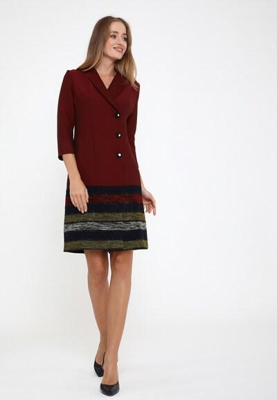 Madam-T Kleid 'Elma' in rot, Modelansicht