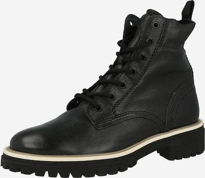 Paul Green Lace-Up Ankle Boots in Beige / Black, Item view