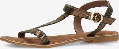 MEXX Sandale 'GABIANO' in bronze, Produktansicht