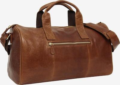 Gusti Leder Reisetasche 'Gusti Leder Hall' in braun, Produktansicht