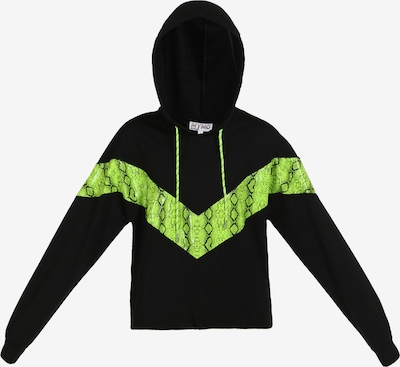 myMo ATHLSR Sweat de sport en vert fluo / noir, Vue avec produit