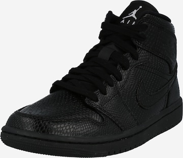 Jordan High-Top Sneakers in Black