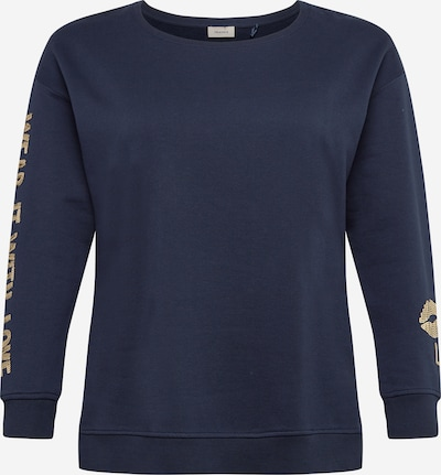 TRIANGLE Sweatshirt in de kleur Navy / Goud, Productweergave