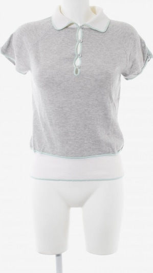 Allude Sweater & Cardigan in S in Cream / Light grey / Mint, Item view