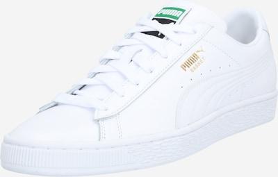 PUMA Sneakers laag 'Basket Classic XXI' in de kleur Goud / Groen / Wit, Productweergave