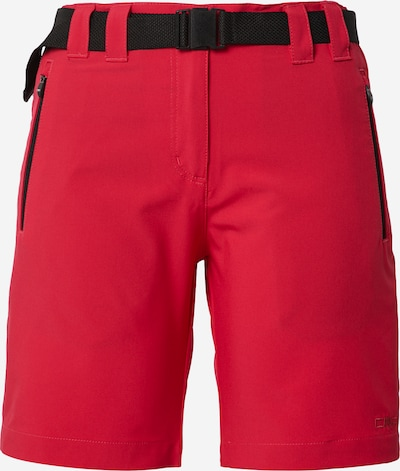 CMP Pantalon outdoor en rouge, Vue avec produit