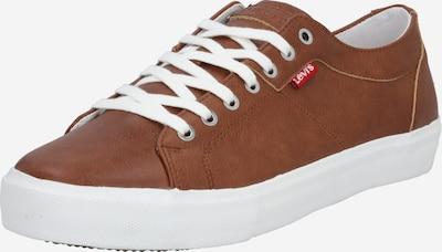 LEVI'S Sneaker 'Woodward' in braun / weiß, Produktansicht