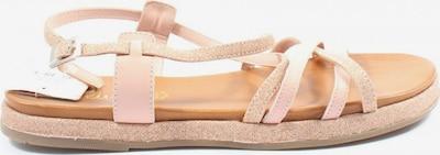 s.Oliver Strandsandalen in 40 in creme / pink, Produktansicht