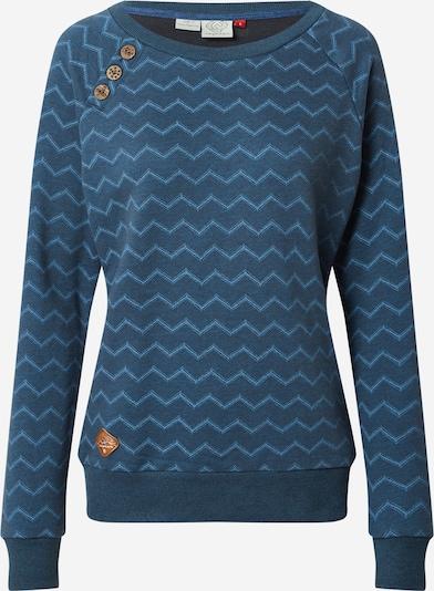 Ragwear Sweatshirt 'DARIA' in navy / hellblau, Produktansicht