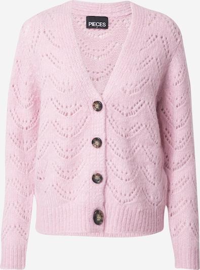 PIECES Strickjacke 'BIBI' in rosa, Produktansicht