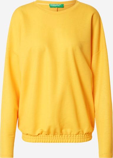 Tricou UNITED COLORS OF BENETTON pe galben, Vizualizare produs
