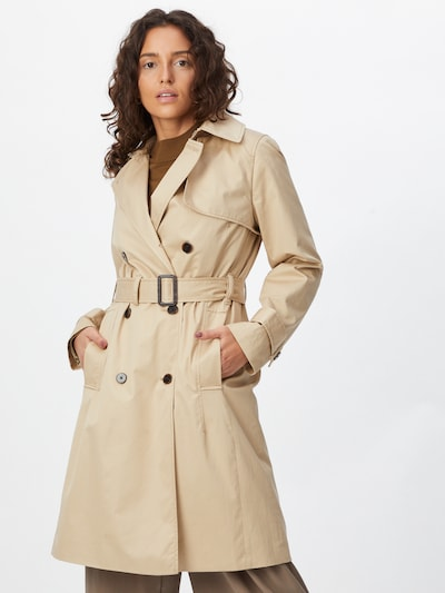bézs Banana Republic Átmeneti kabátok 'Essential', Modell nézet