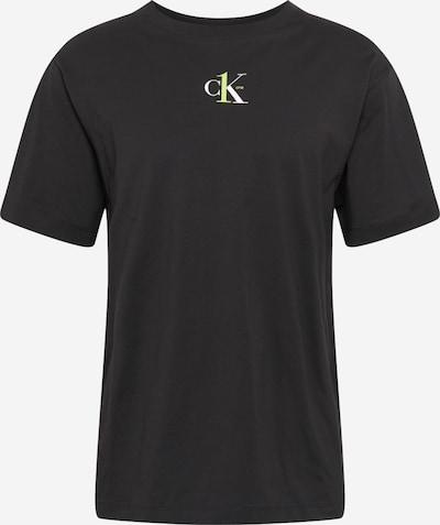 Calvin Klein Jeans Shirt in de kleur Riet / Zwart / Wit, Productweergave