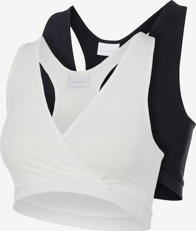 MAMALICIOUS BH 'Helena' in de kleur Zwart / Wit, Productweergave