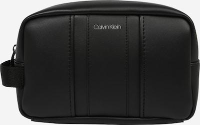 Calvin Klein Tualetes piederumu soma, krāsa - melns, Preces skats