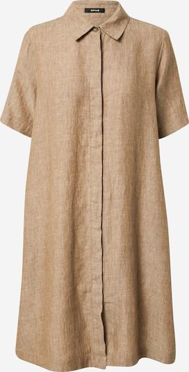 OPUS Skjortklänning 'Welika' i brunmelerad, Produktvy