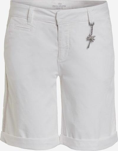 Pantaloni eleganți OUI pe alb, Vizualizare produs