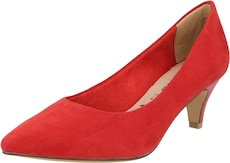 TAMARIS Lodičky - v červenej farbe