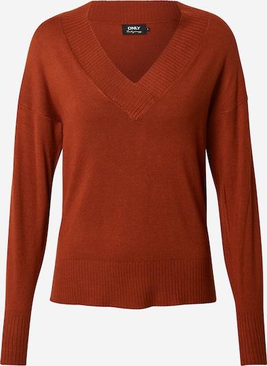 ONLY Pullover 'Mauda' in braun, Produktansicht