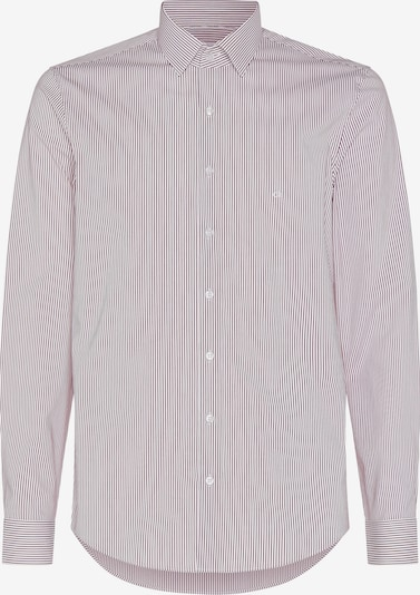 Calvin Klein Businesshemd in hellrot / weiß, Produktansicht