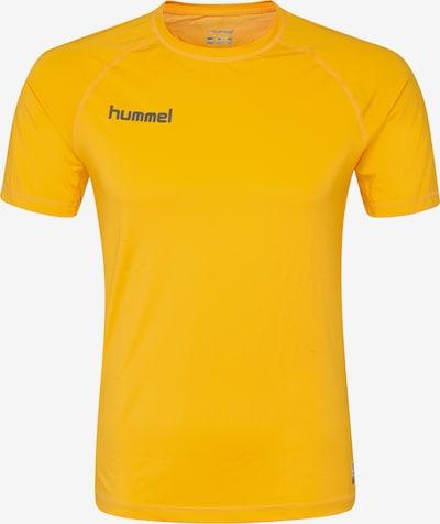 Hummel Trainingsshirt in gelb: Frontalansicht