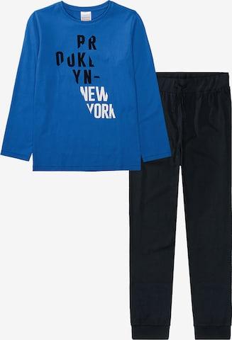 STACCATO Schlafanzug in Blau