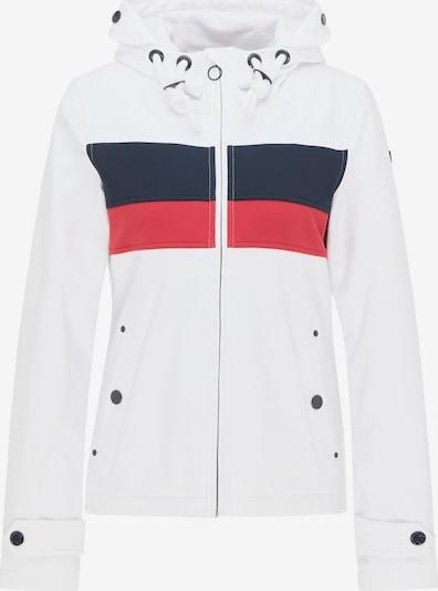 DreiMaster Maritim Functionele jas in de kleur Rood / Zwart / Wit, Productweergave