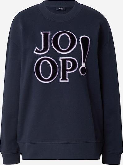 JOOP! Μπλούζα φούτερ σε ναυτικό μπλε / σκούρο λιλά / λευκό, Άποψη προϊόντος
