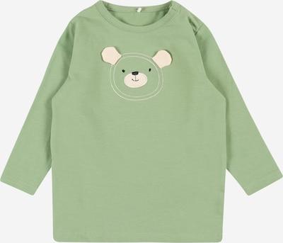 NAME IT Shirt 'LUDVIG' in beige / pastellgrün, Produktansicht