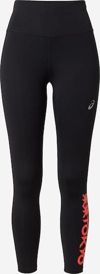 ASICS Sportbroek 'FUTURE TOKYO' in de kleur Koraal / Zwart / Wit, Productweergave