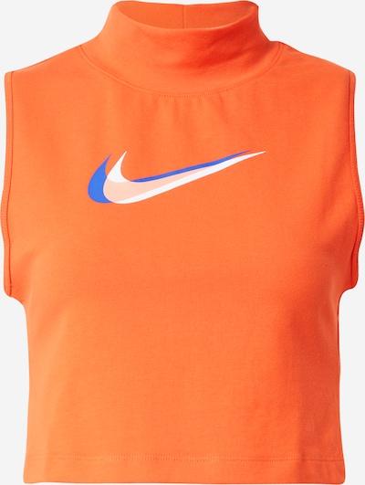 kék / narancs / fehér Nike Sportswear Top, Termék nézet