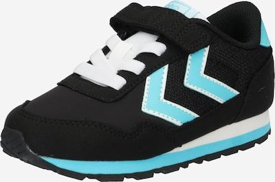 Hummel Sneakers in de kleur Lichtblauw / Zwart, Productweergave