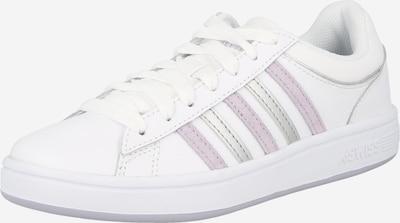 K-SWISS Zapatillas deportivas bajas en lila claro / plata / blanco, Vista del producto