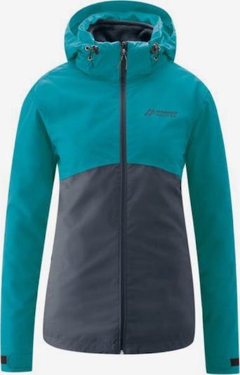 Maier Sports Jacke 'Gregale' in marine / hellblau, Produktansicht