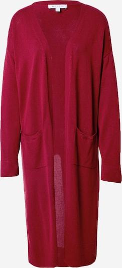 NU-IN Pleten plašč | temno rdeča barva, Prikaz izdelka