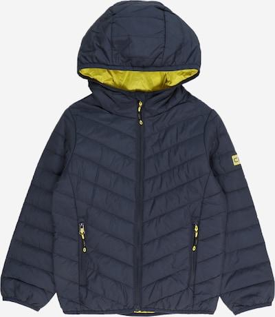 CMP Outdoorjas in de kleur Donkerblauw / Geel, Productweergave