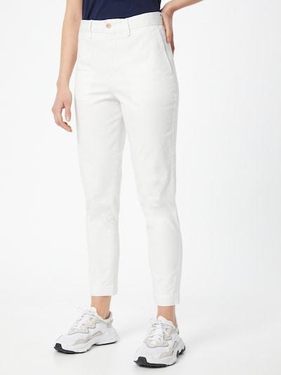 """""""Chino"""" stiliaus kelnės iš POLO RALPH LAUREN , spalva - balta, Modelio vaizdas"""