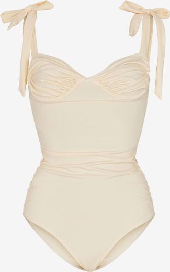 OW Intimates Badeanzug 'CALI' in creme, Produktansicht