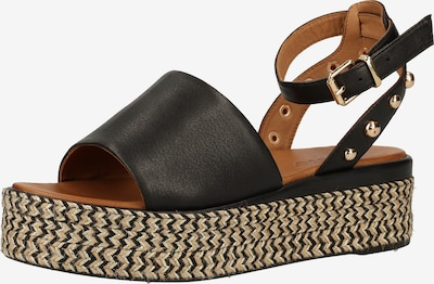 INUOVO Sandale in schwarz, Produktansicht