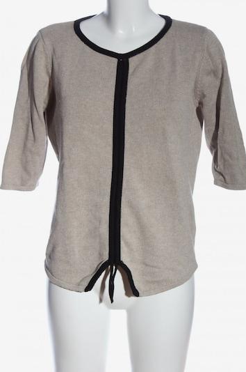 Skunkfunk Schlupf-Bluse in S in hellgrau / schwarz, Produktansicht